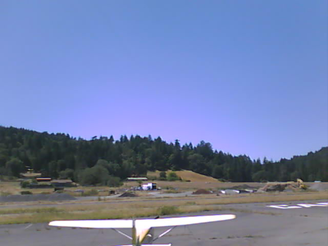 thumbnail of west facing webcam at garberville airport humboldt county airports Garberville Airport 016 | East Webcam webcam garberville airport west
